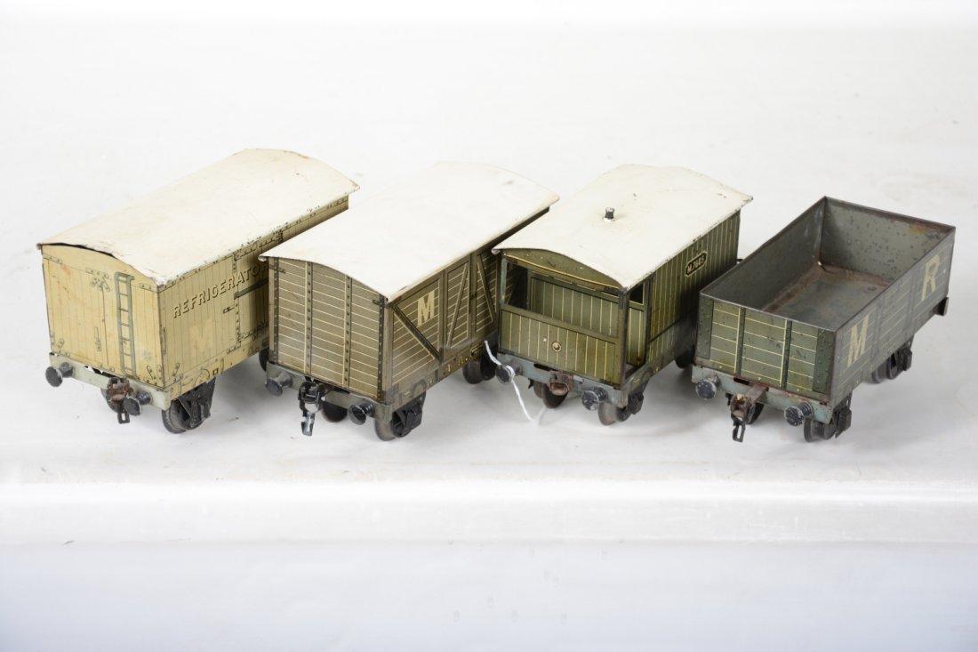 4 Marklin 20cm English Style Freight Cars - 4