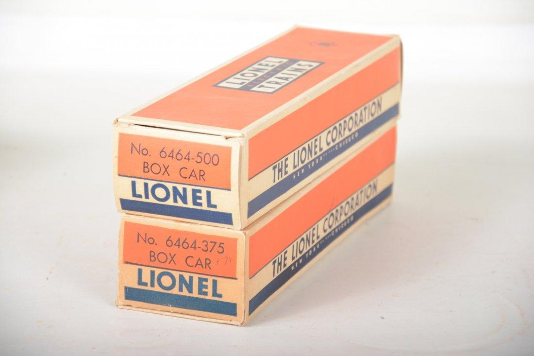 2 LN Boxed Lionel 6464 Boxcars - 3