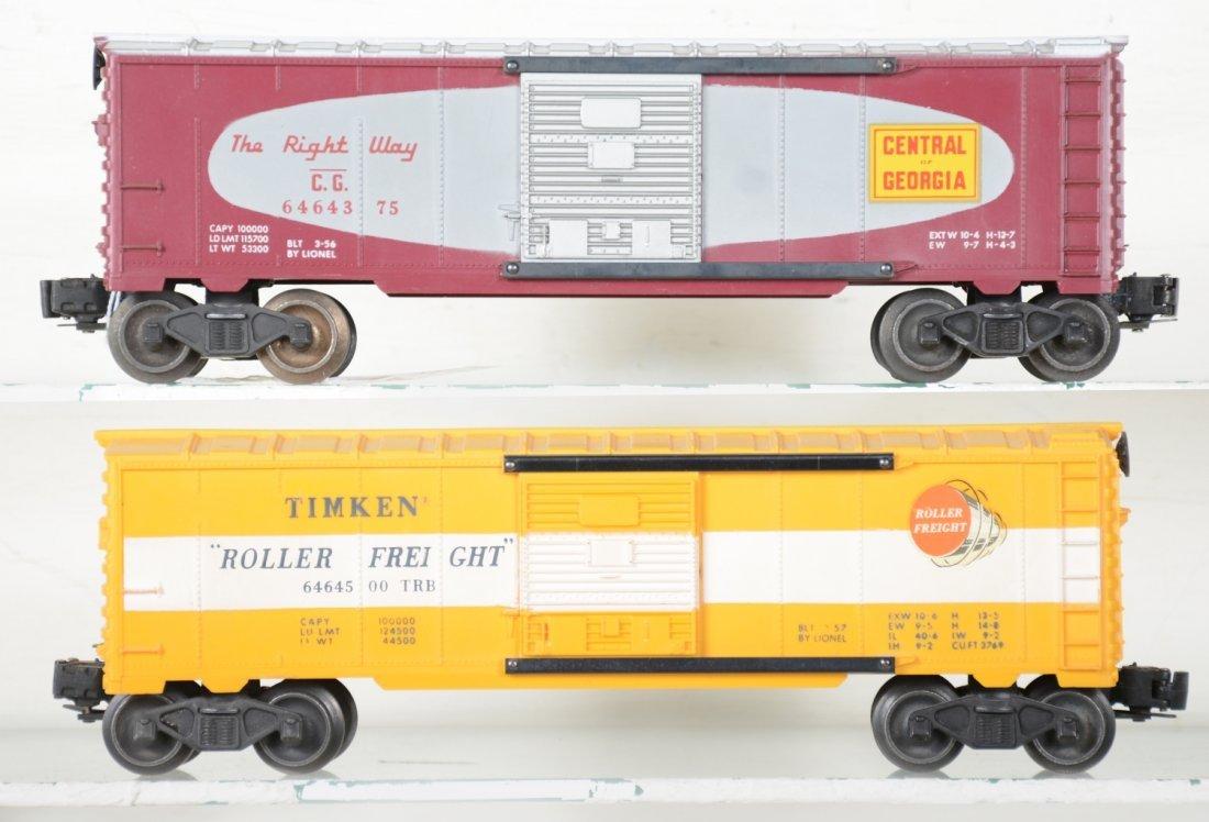 2 LN Boxed Lionel 6464 Boxcars - 4