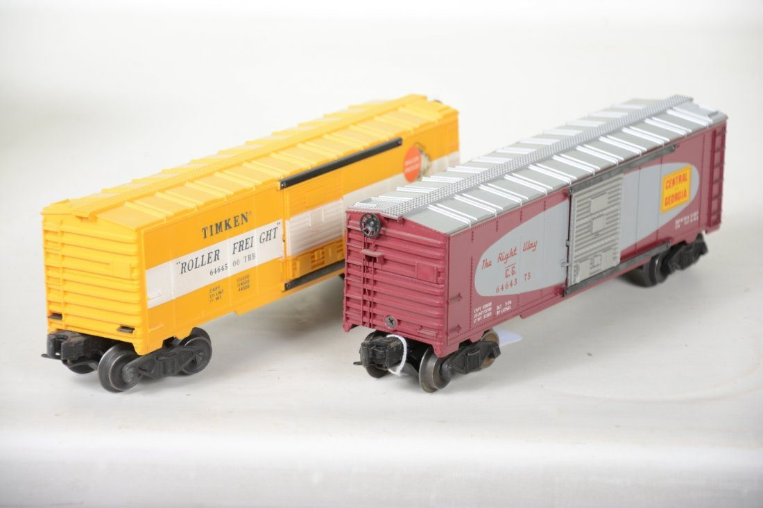 2 LN Boxed Lionel 6464 Boxcars - 5