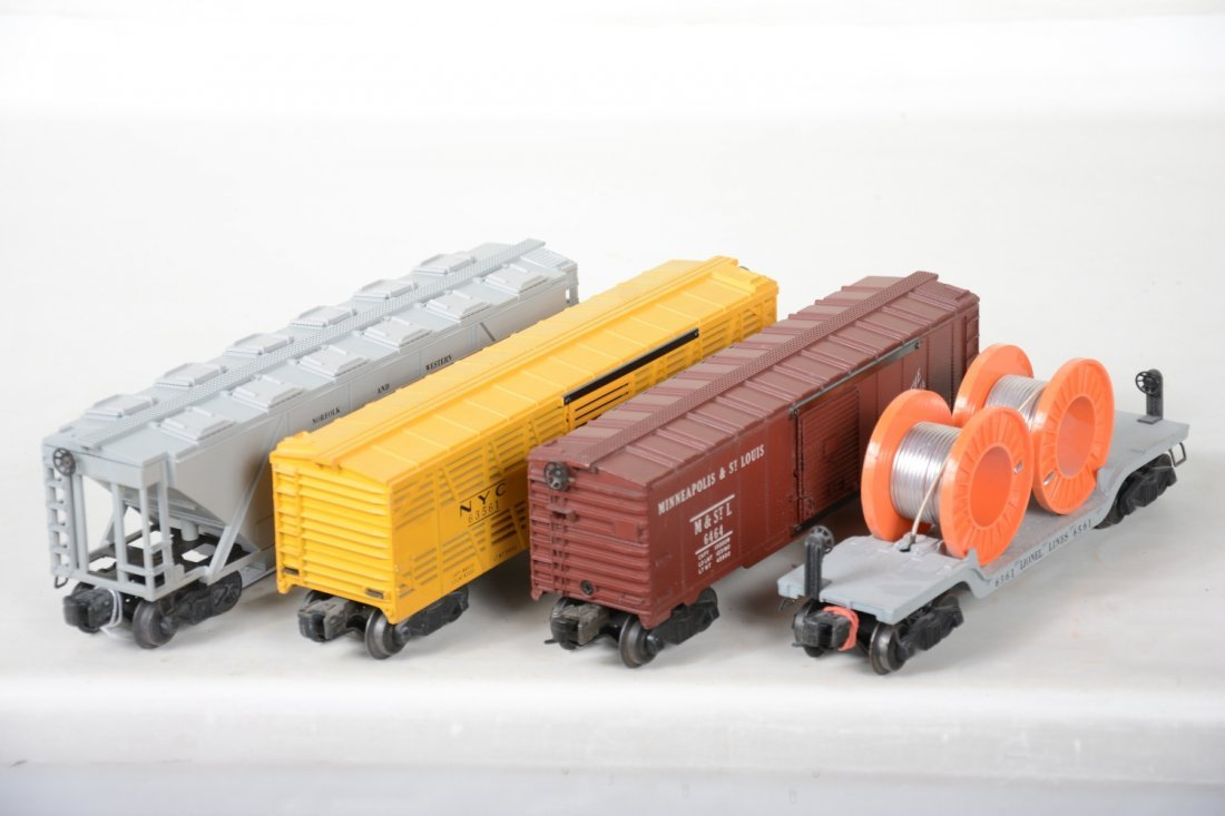Clean Boxed Lionel Freight Cars - 3