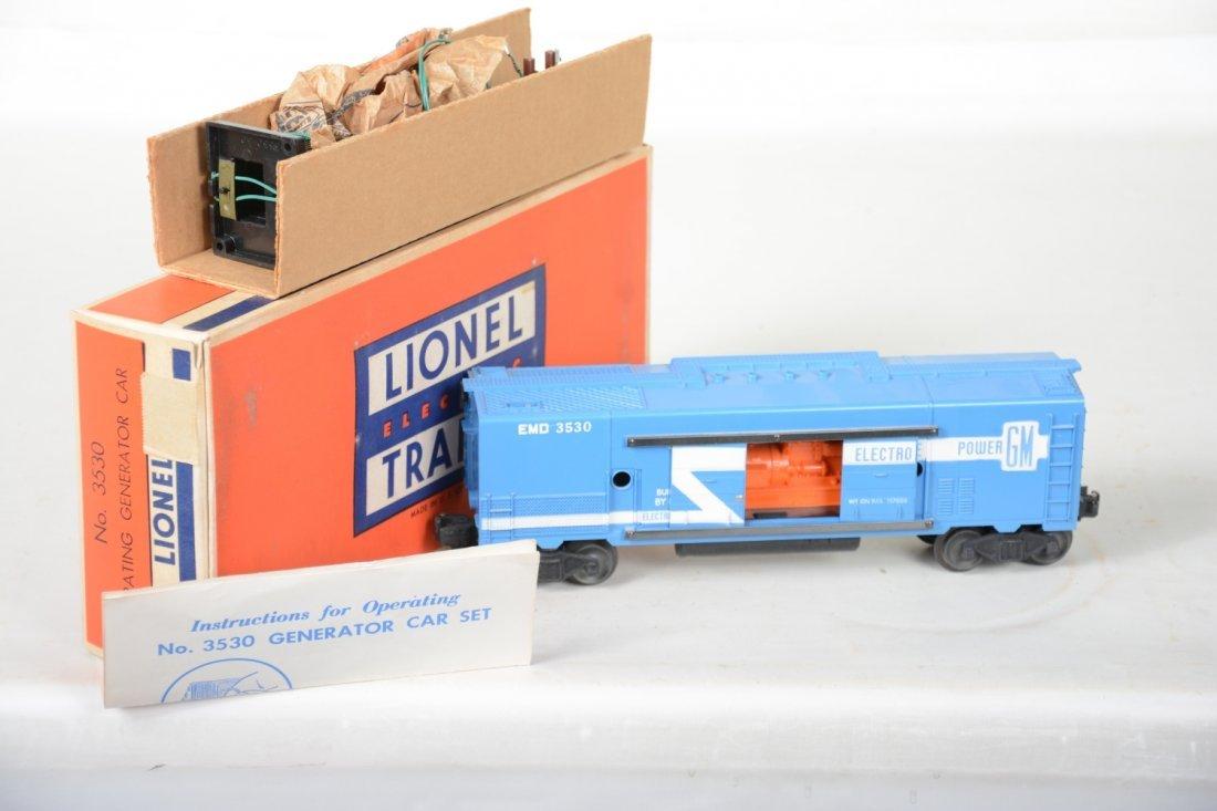 LN Boxed Lionel 3530 Generator Car