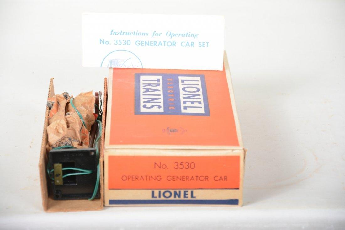 LN Boxed Lionel 3530 Generator Car - 5