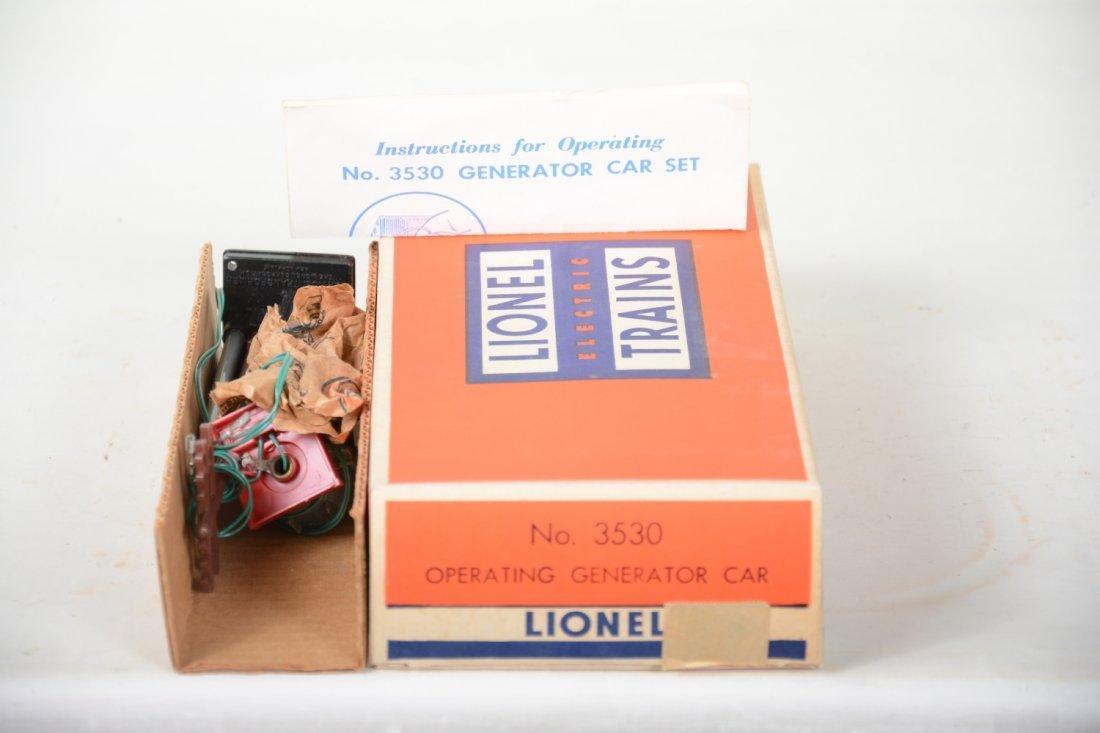LN Boxed Lionel 3530 Generator Car - 6