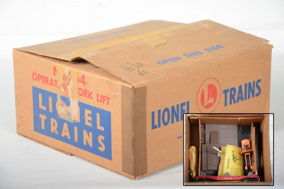 Nice Boxed Lionel 264 Forklift Platform Set