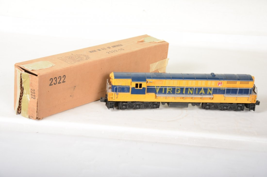 O Ga. Unusual Boxed 2322 Virginian FM Diesel