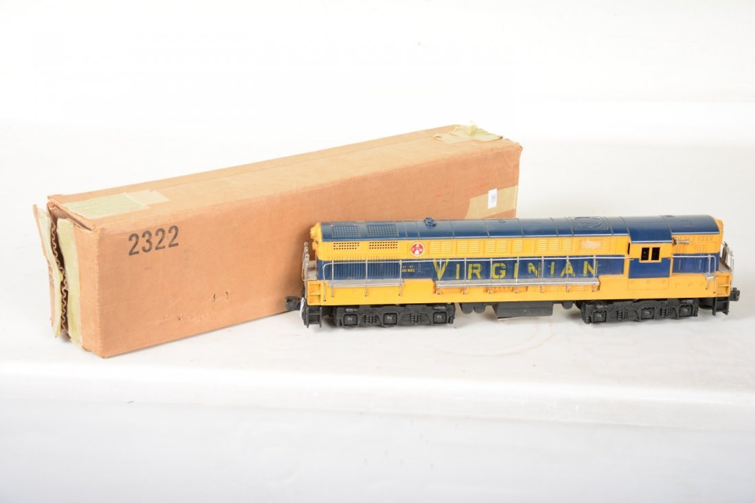 O Ga. Unusual Boxed 2322 Virginian FM Diesel - 2