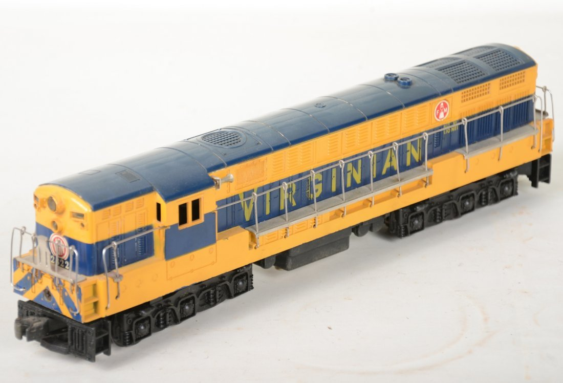 O Ga. Unusual Boxed 2322 Virginian FM Diesel - 3