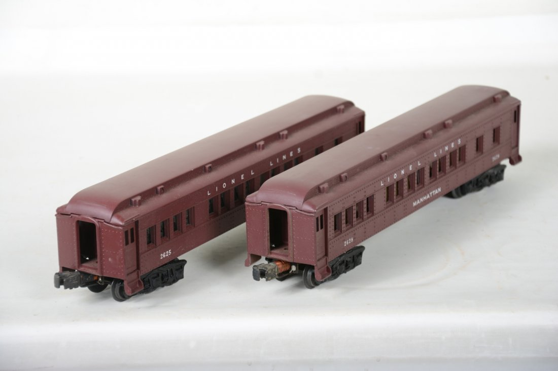 Lionel 2625 & 2628 Madison Cars, 2 Boxes - 5
