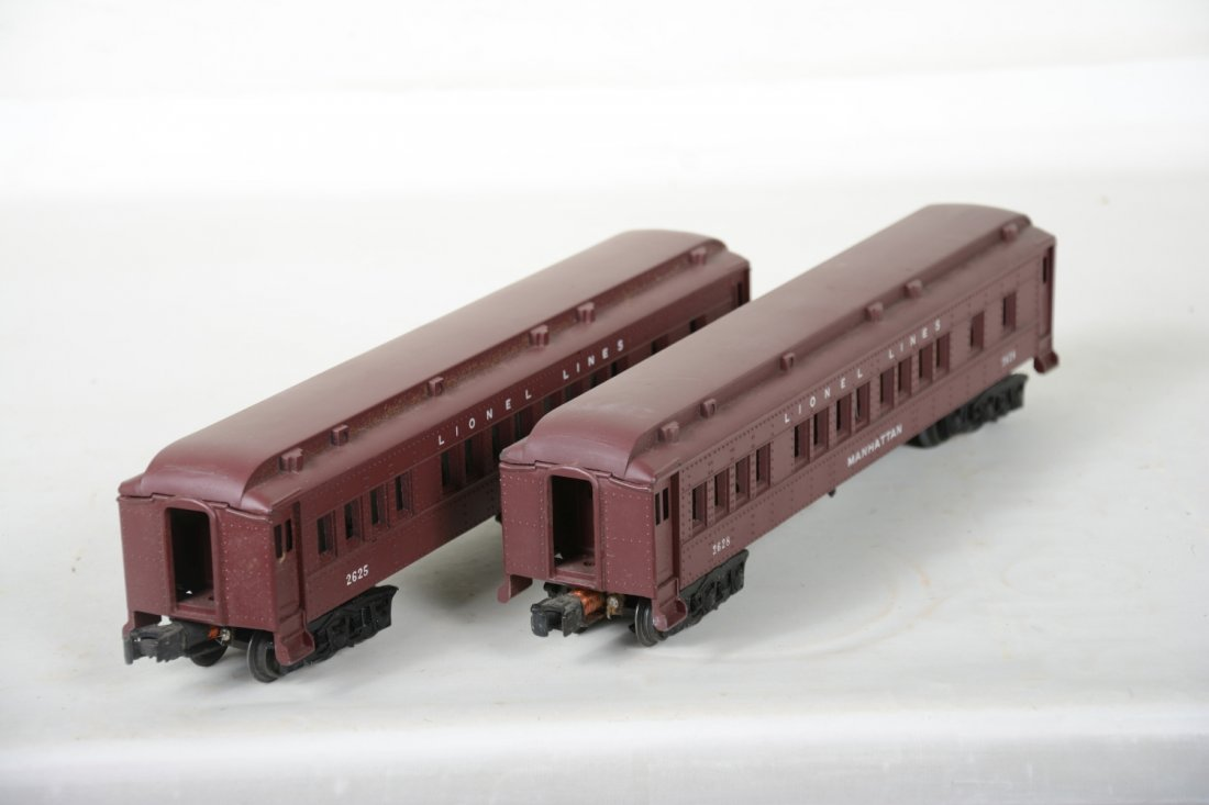 Lionel 2625 & 2628 Madison Cars, 2 Boxes - 6