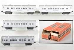 Clean Boxed Lionel 2400 Series Passenger Cars