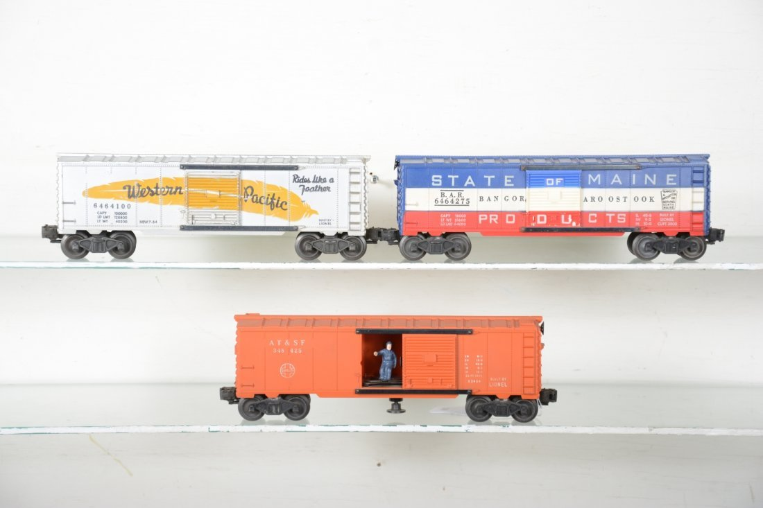 Boxed Lionel Boxcars - 2