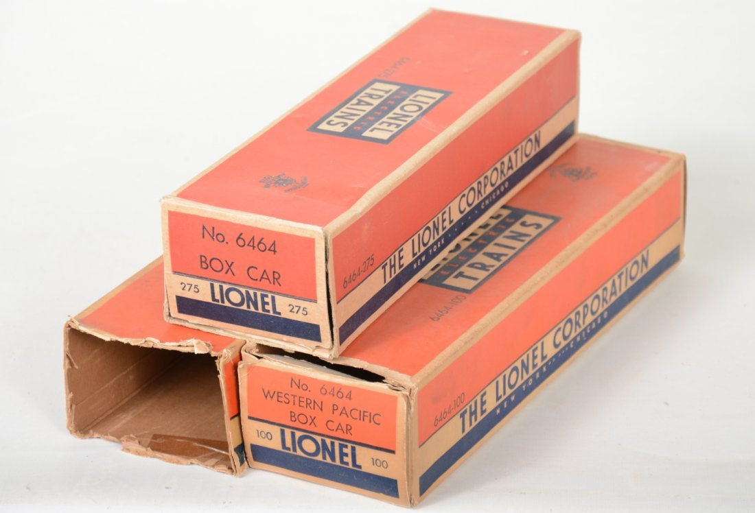 Boxed Lionel Boxcars - 5