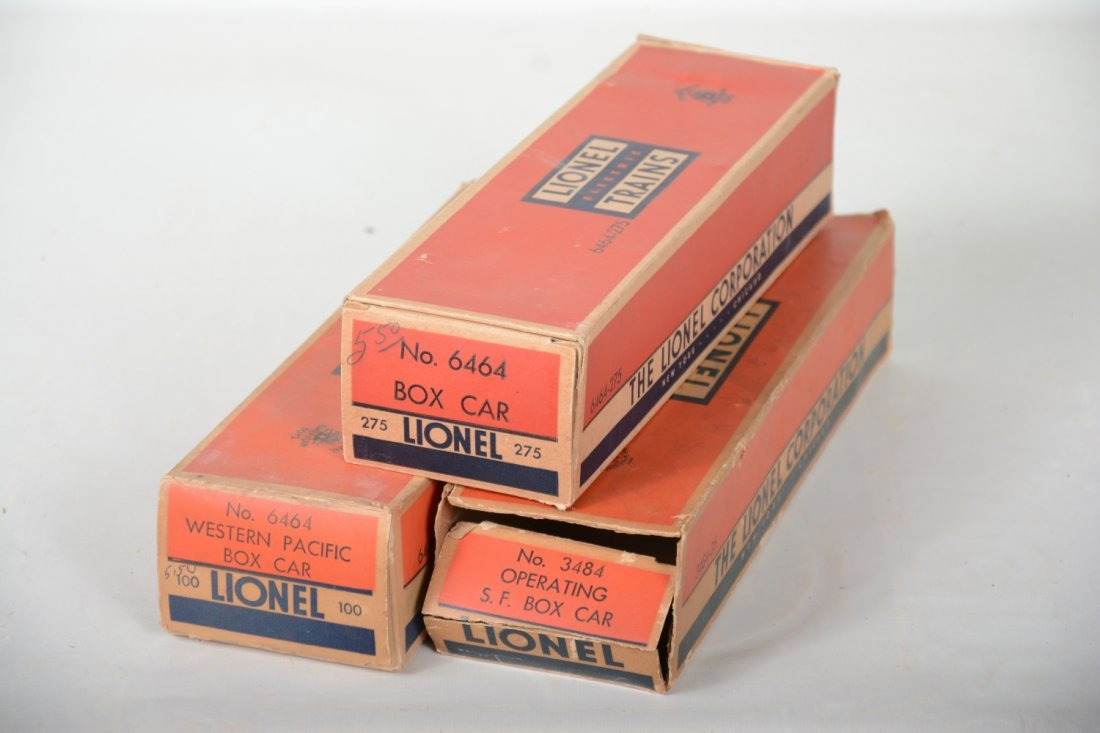 Boxed Lionel Boxcars - 6