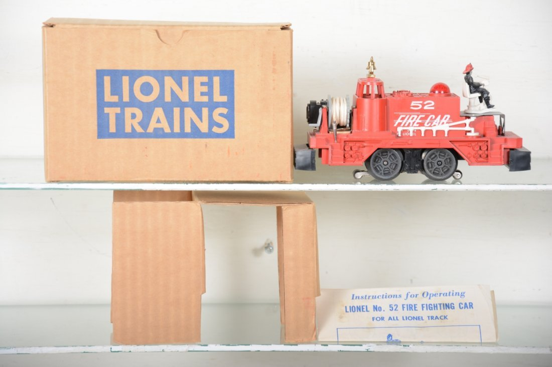 NMINT Boxed Lionel 52 Fire Cars