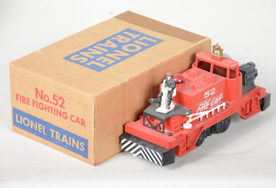 NMINT Boxed Lionel 52 Fire Cars - 3