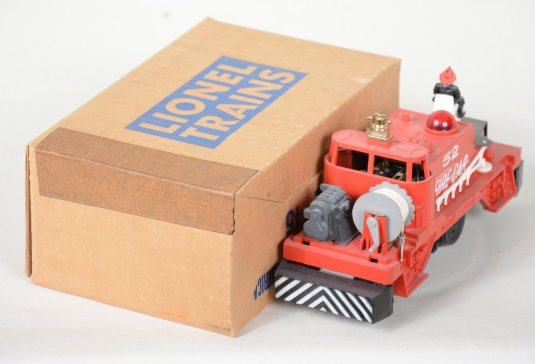NMINT Boxed Lionel 52 Fire Cars - 4