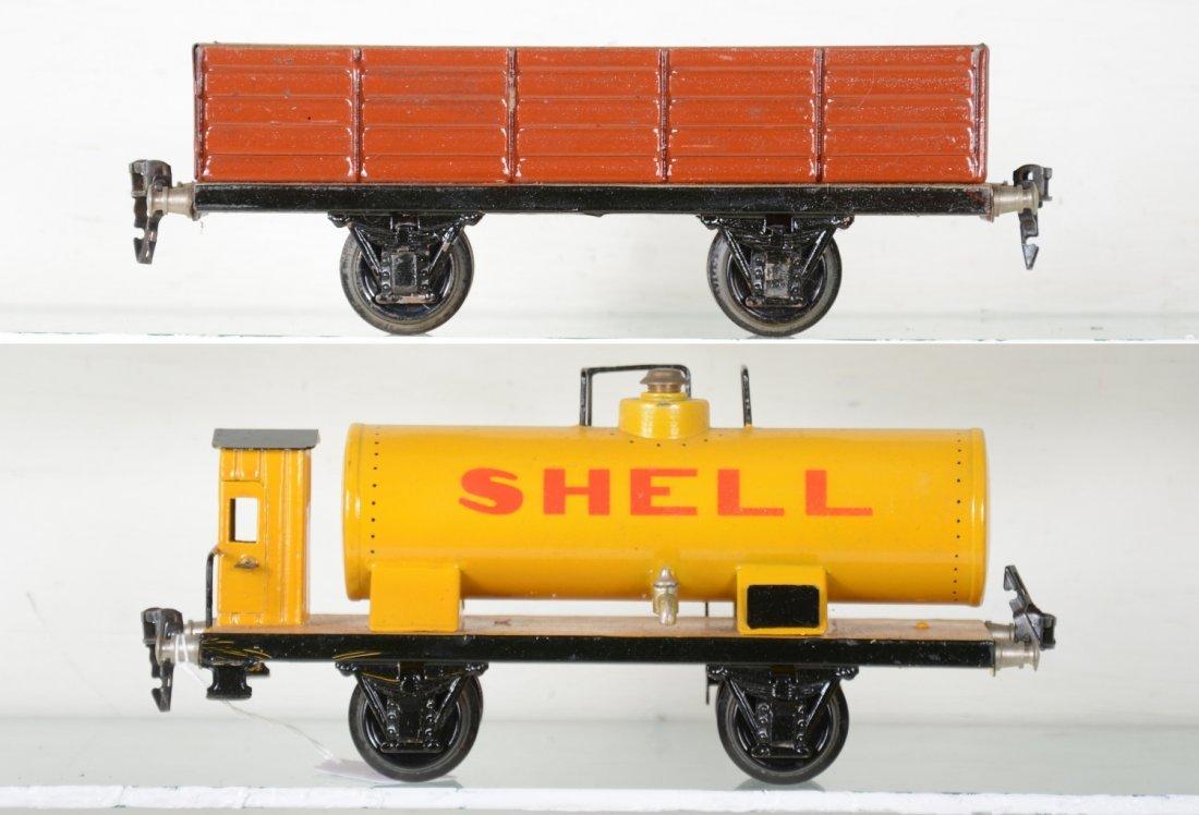 2 Marklin 24cm Freight Cars