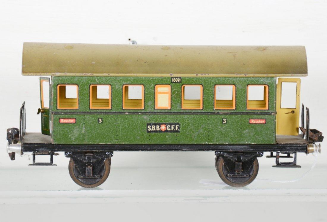 Unusual Marklin 27cm 1807/1 Swiss Coach