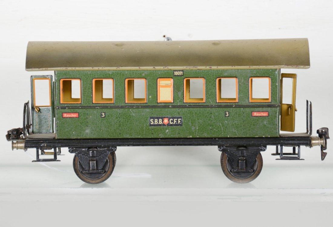 Unusual Marklin 27cm 1807/1 Swiss Coach - 2