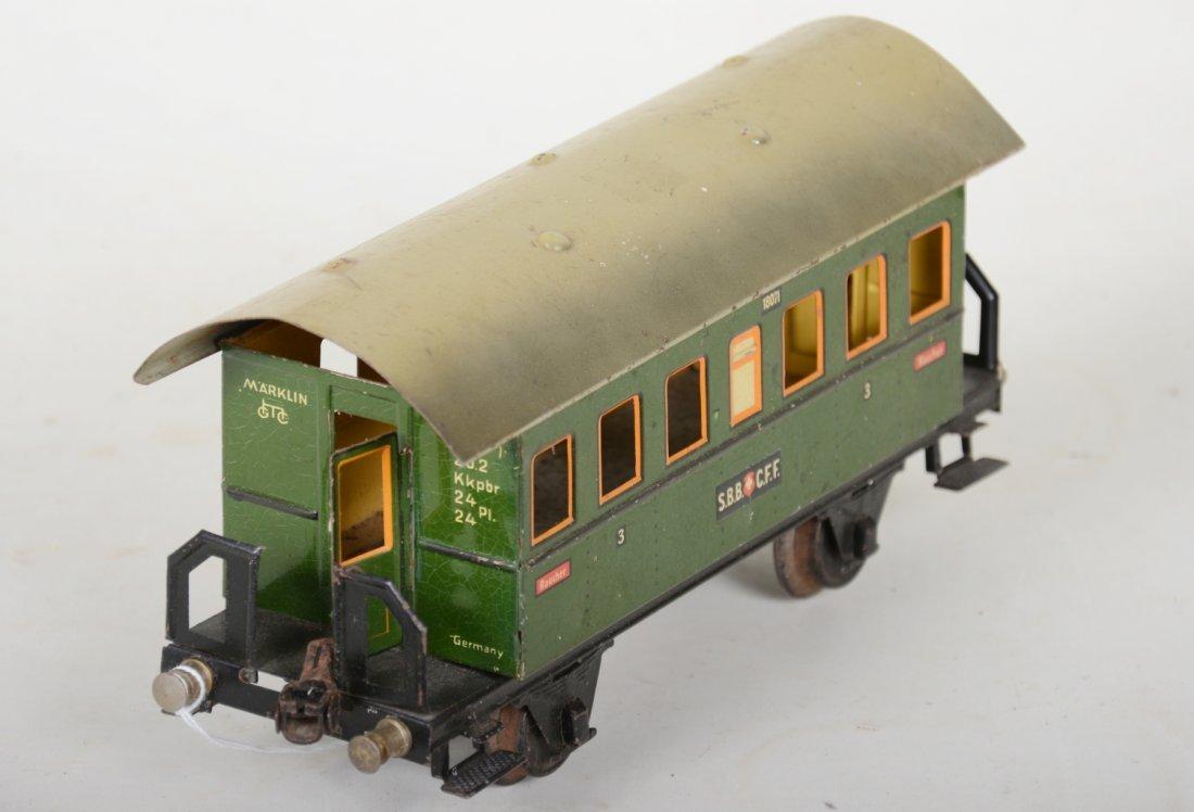Unusual Marklin 27cm 1807/1 Swiss Coach - 3