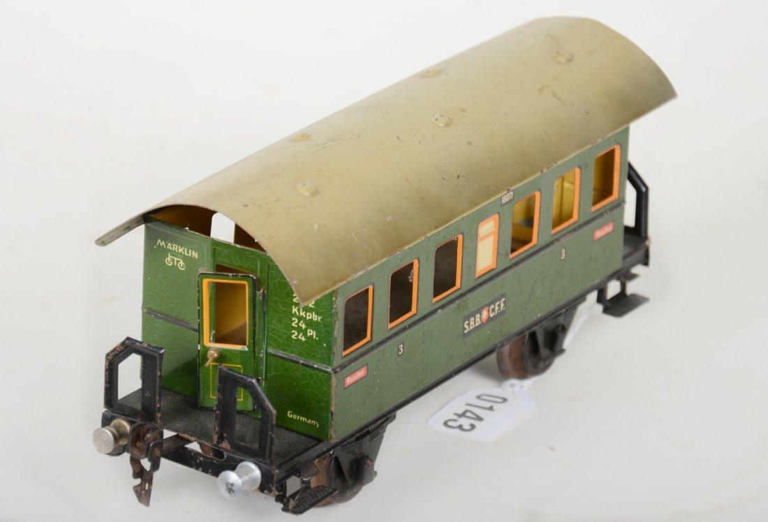 Unusual Marklin 27cm 1807/1 Swiss Coach - 4