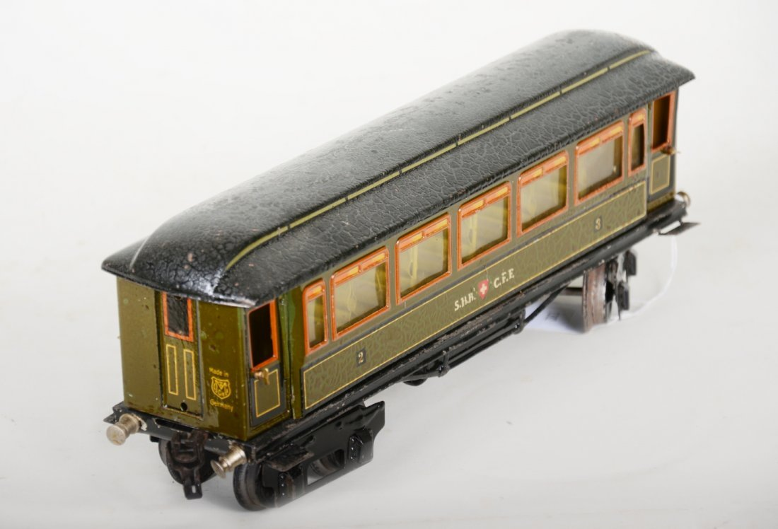 Unusual Marklin 1888/1 SBB CFF Swiss Coach - 4