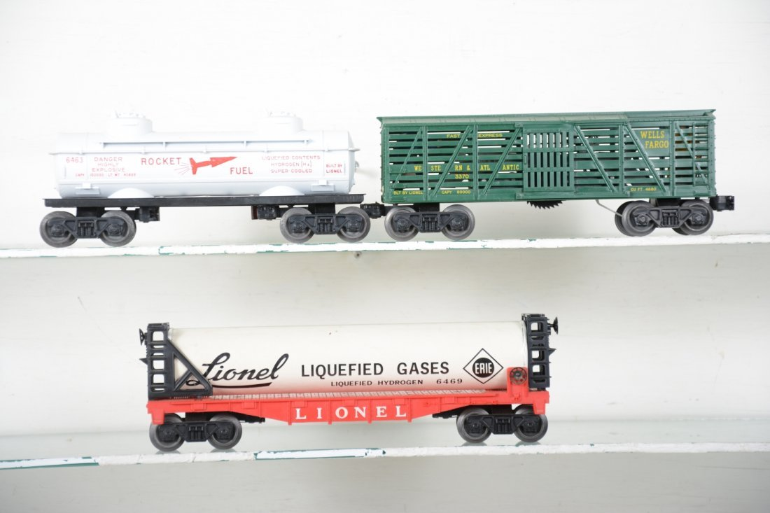 Boxed Lionel 3470, 6463 & 6469 Freight Cars - 3