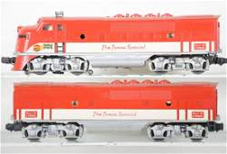 Boxed Lionel 2245 Texas Special F3 AB Diesels