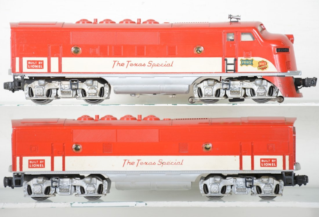 Boxed Lionel 2245 Texas Special F3 AB Diesels - 2