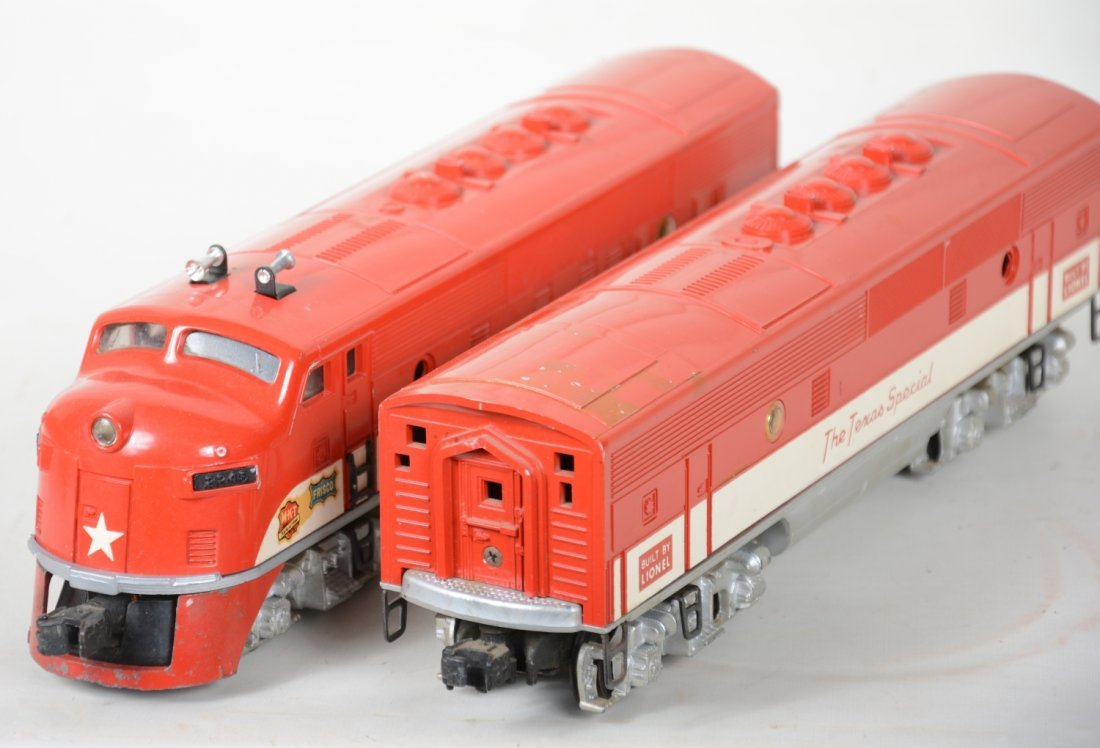 Boxed Lionel 2245 Texas Special F3 AB Diesels - 3