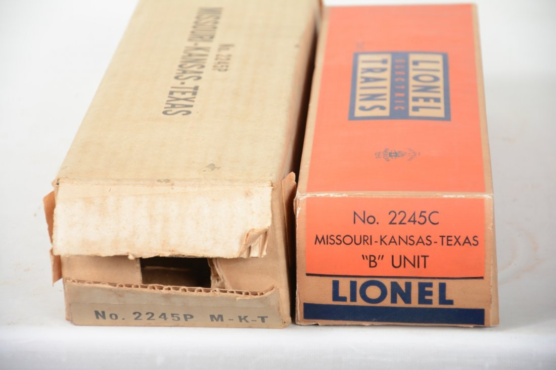 Boxed Lionel 2245 Texas Special F3 AB Diesels - 5