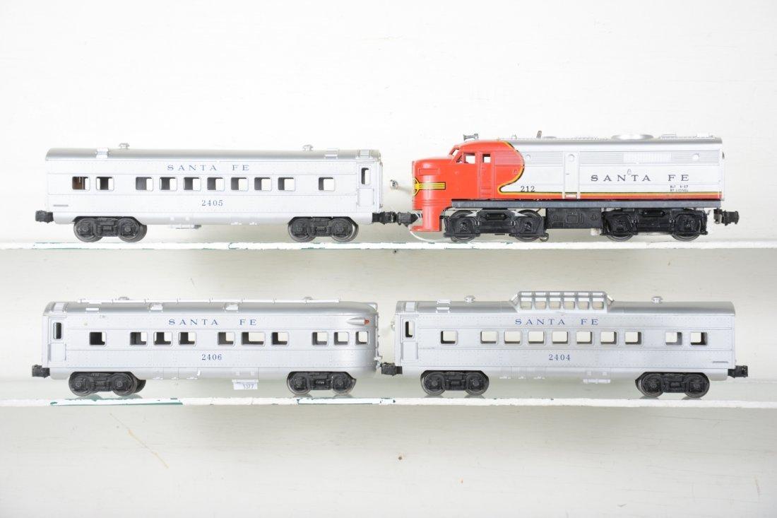 Clean Lionel 212 SF Passenger Set - 2