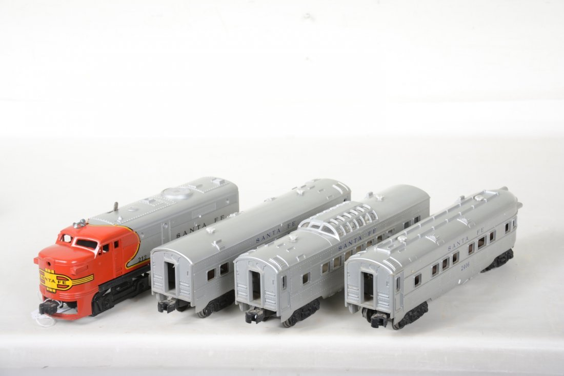 Clean Lionel 212 SF Passenger Set - 4