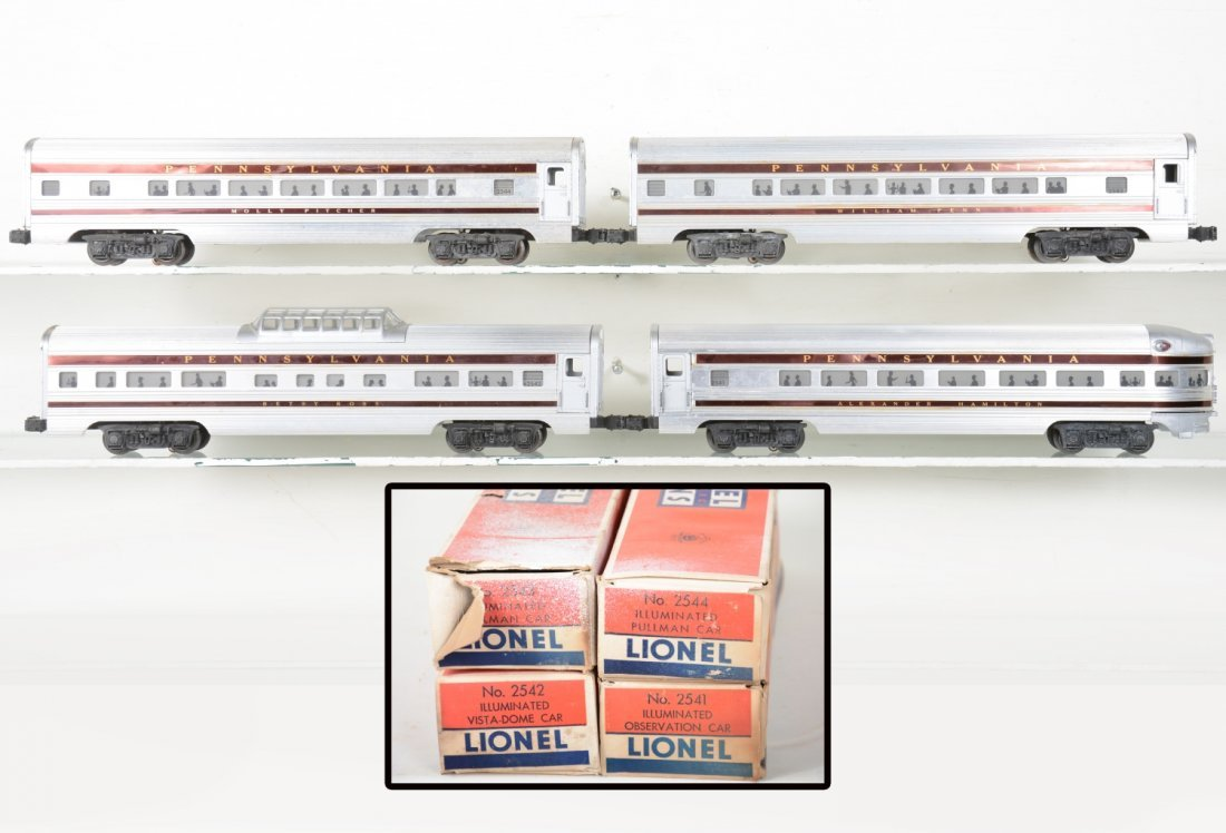 Boxed Lionel Congressional Cars