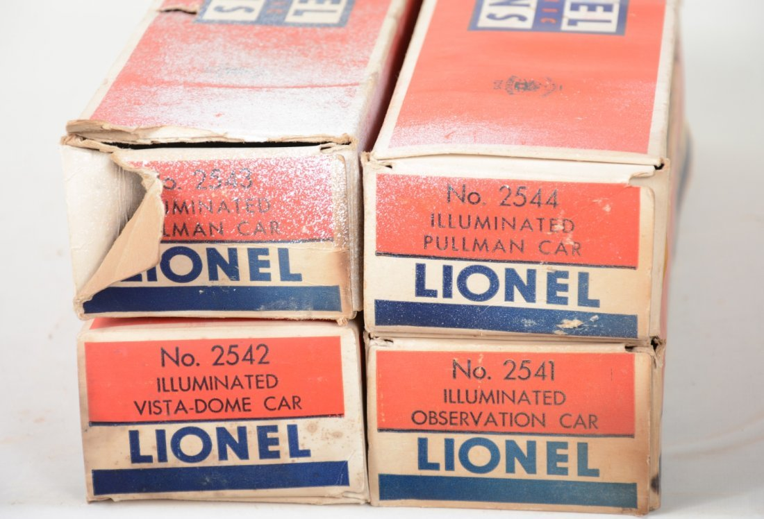 Boxed Lionel Congressional Cars - 5