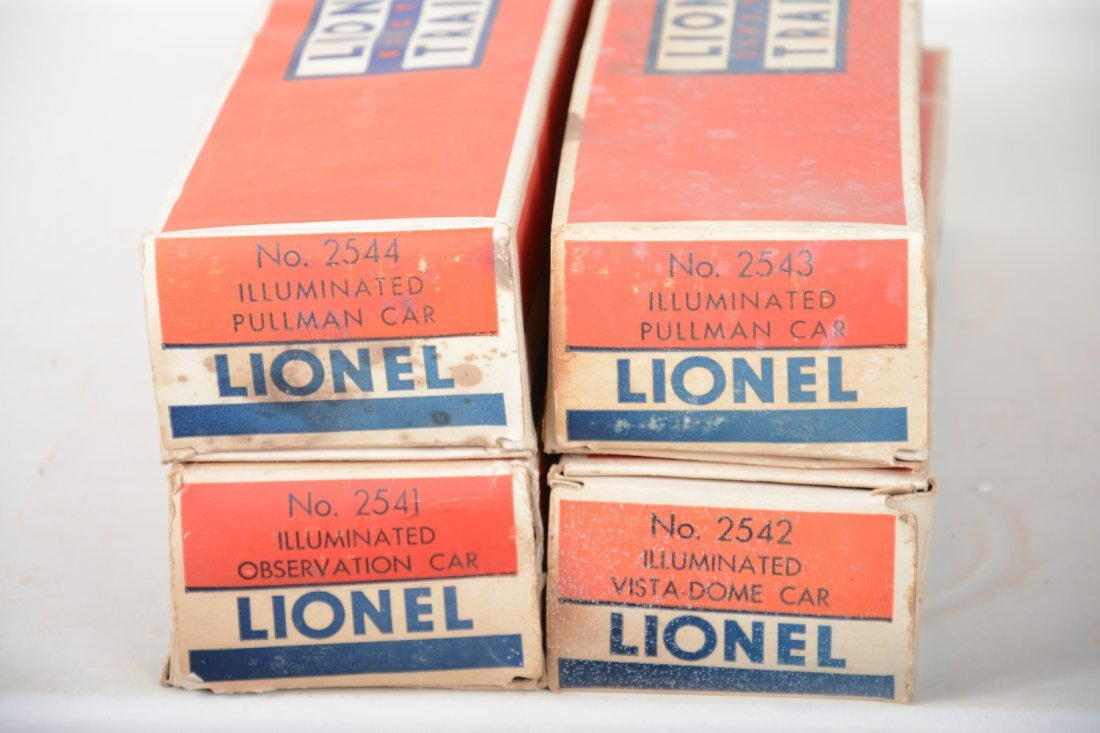 Boxed Lionel Congressional Cars - 6