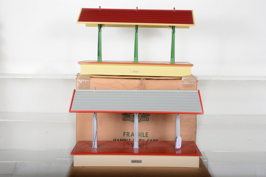 Boxed MTH Early & Late Lionel 155 Platforms