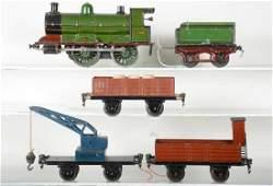 Nice Marklin English Steam Freight Set