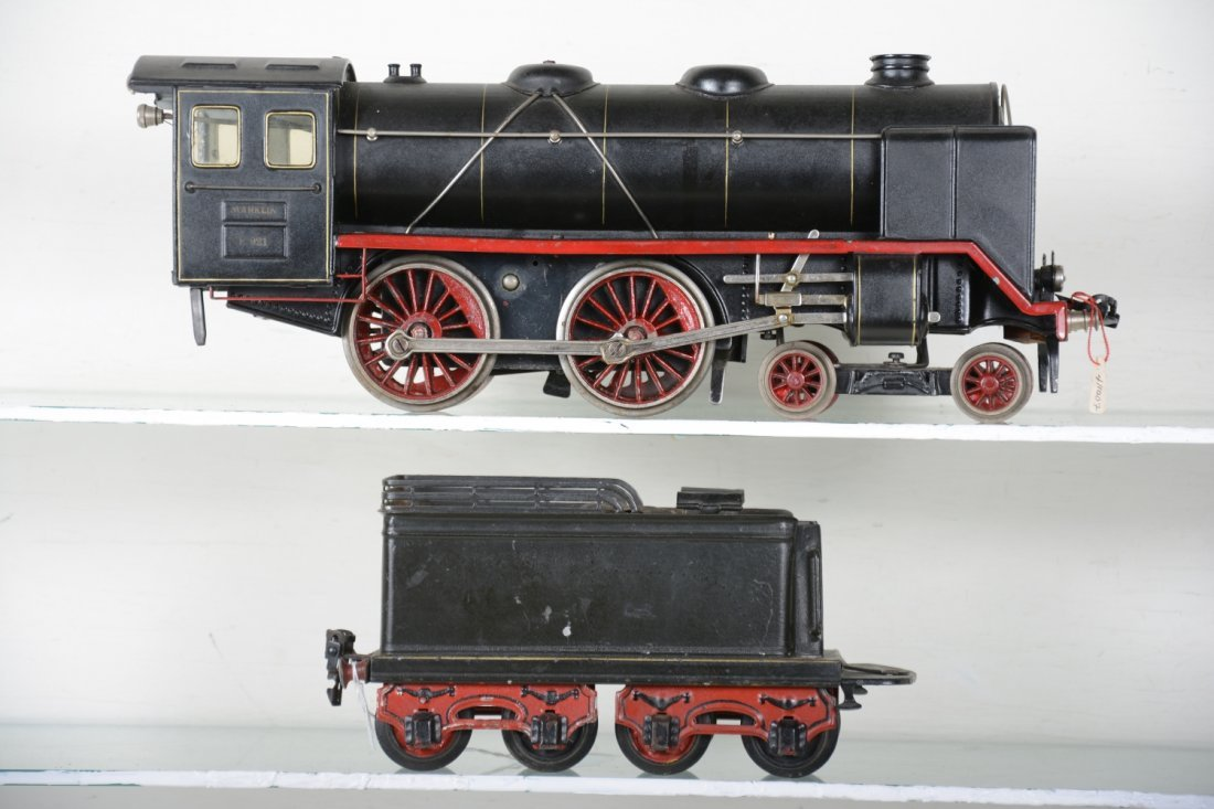 Late Marklin E921 Steam Locomotive - 2