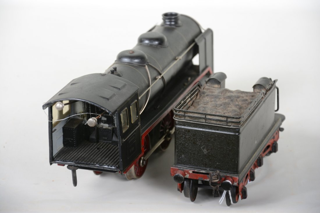Late Marklin E921 Steam Locomotive - 4