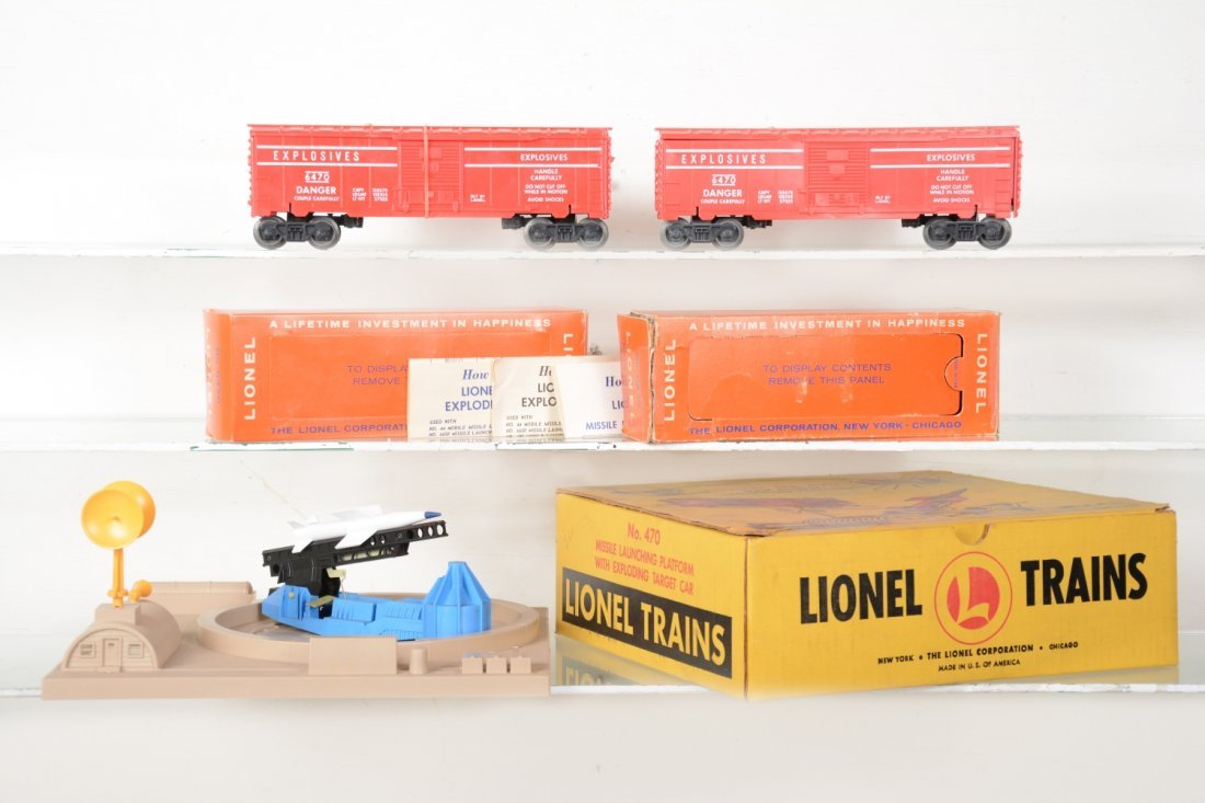 LN Boxed 470 & Extra 6470
