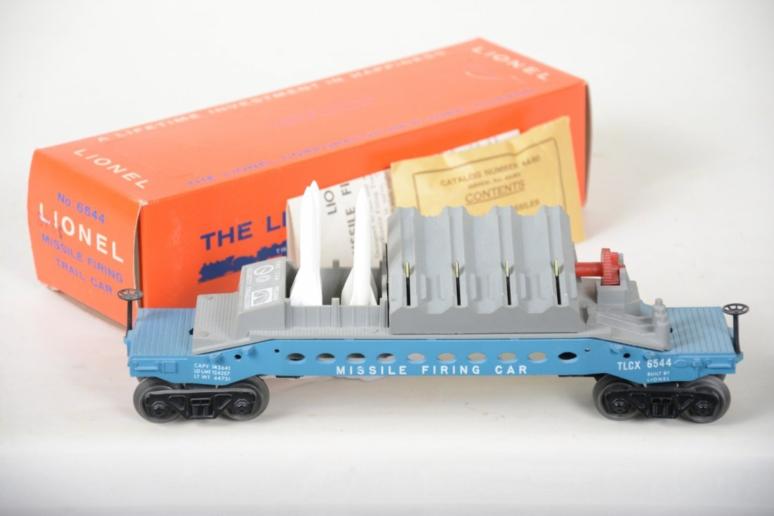 NMINT Boxed Lionel 6544 Missile Firing Car