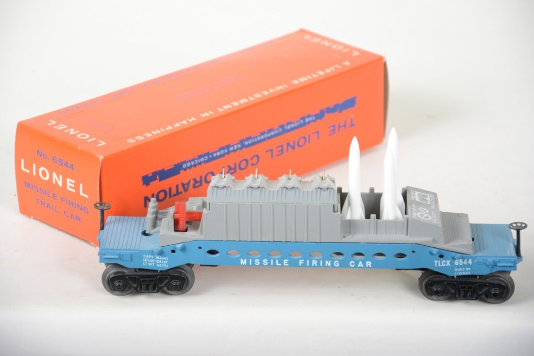 NMINT Boxed Lionel 6544 Missile Firing Car - 2