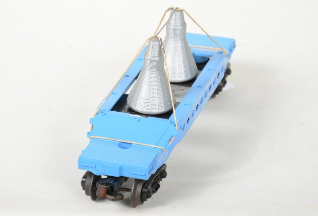 NMint Boxed Lionel 6413 Mercury Capsule Car - 4
