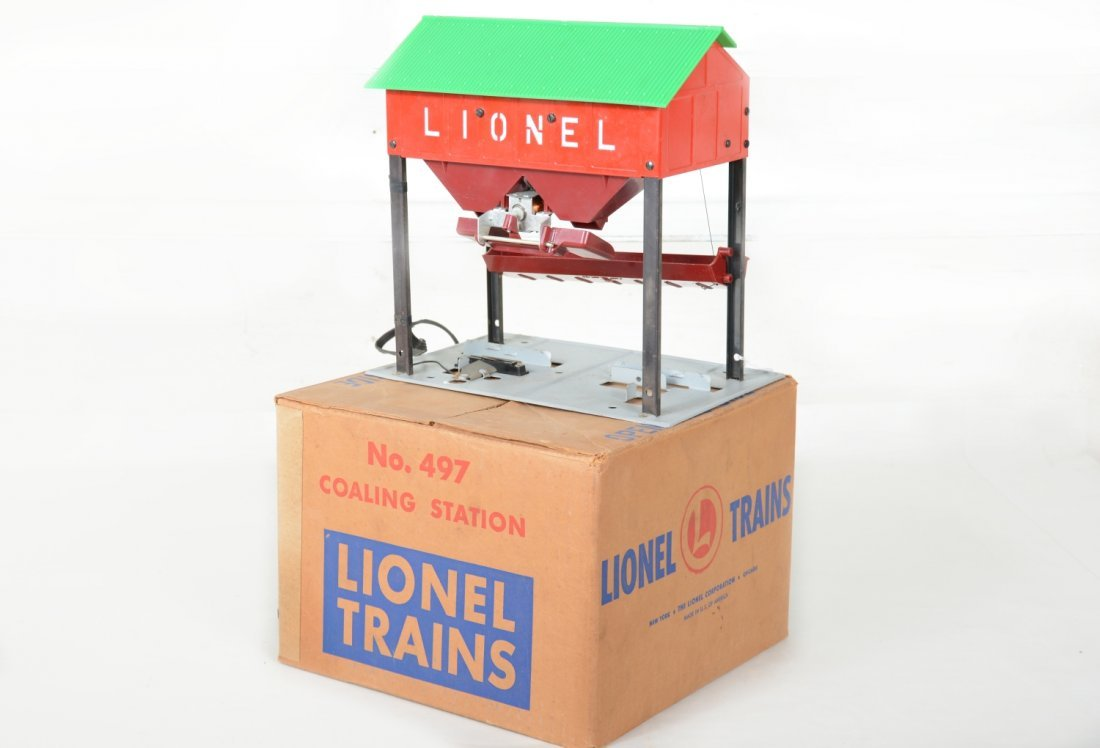 Nice Boxed Lionel 497 Coaling Station - 2