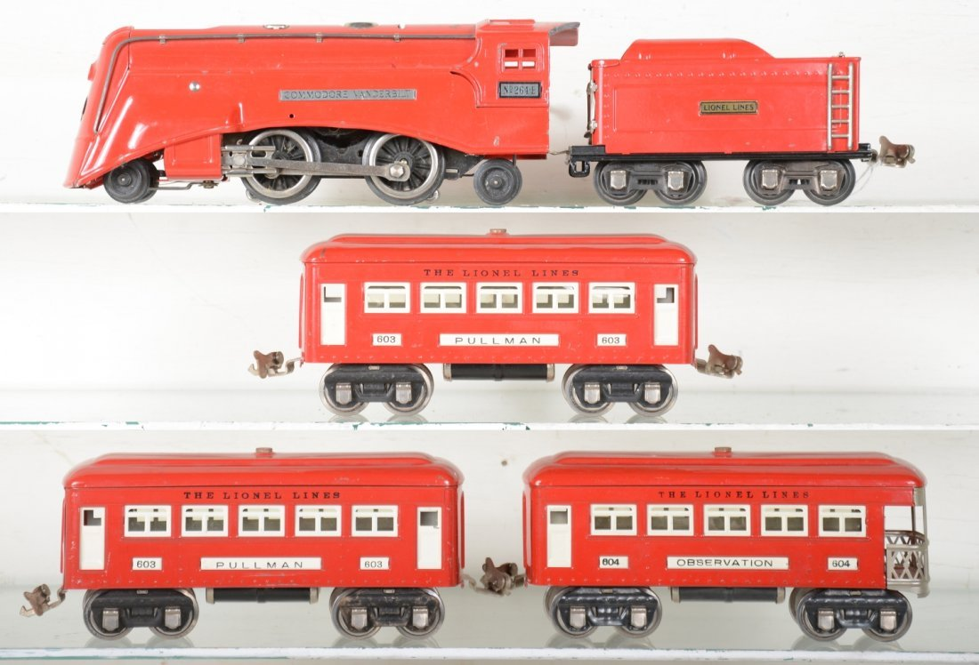 Lionel 264E Red Comet Set