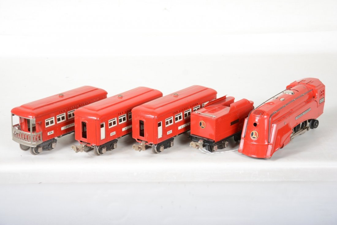 Lionel 264E Red Comet Set - 3