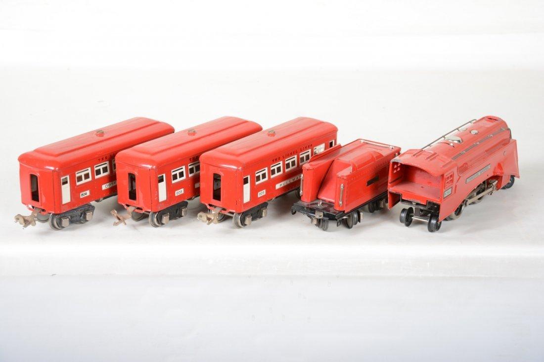 Lionel 264E Red Comet Set - 4