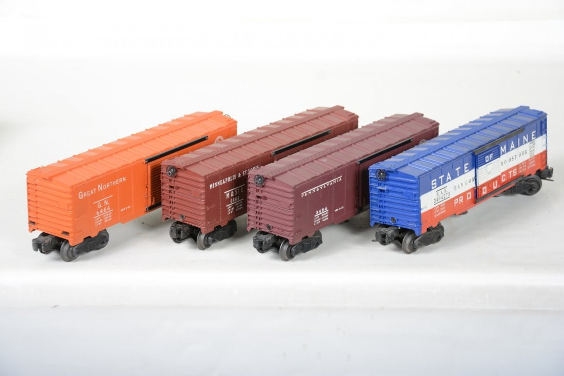 Boxed Lionel 6464 Style Boxcars - 5
